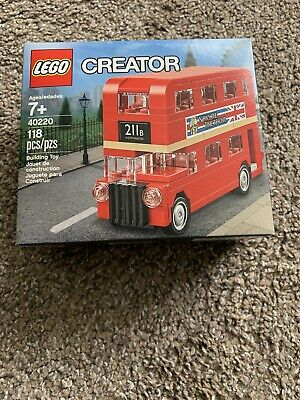 $ CDN22.97 • Buy LEGO Creator Double Decker London Bus 40220 Brand New In Box