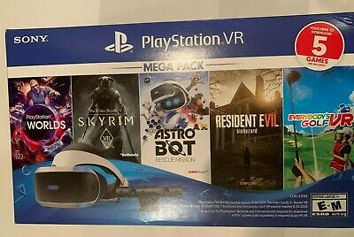 AU1073.02 • Buy Sony PlayStation 4 PS4 VR Five 5 Game Mega Pack Bundle