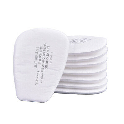 AU12.96 • Buy 10pcs 5N11 Cotton Filter Safety Protect Replacement For 6200 7502 Respirator