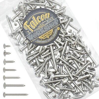 £5.39 • Buy 200g MIXED PACK OF STAINLESS STEEL A2 POZI FLANGE HEAD SELF TAPPING SCREWS