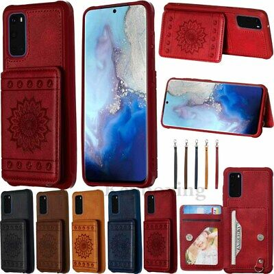 $ CDN9.72 • Buy Magnetic Flip Leather Wallet Case Cover For Samsung S20 S10 S9 S8 Plus Note 9 10