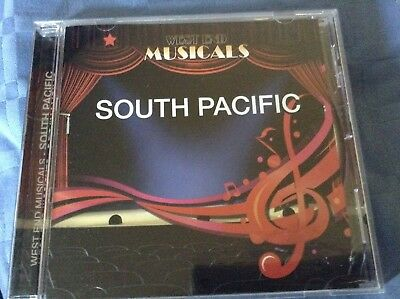 South Pacific West End Musicals Cd • 3.99£