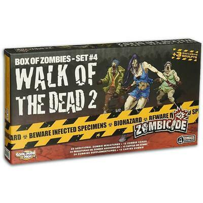 AU34.95 • Buy Zombicide Walk Of The Dead 2 Box Of Zombies Set 4 Pack Board Game