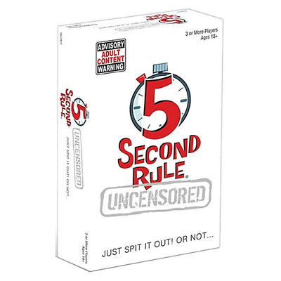 AU26.59 • Buy 5 Second Rule Uncensored