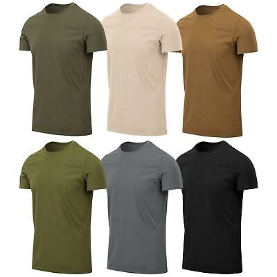 £11.50 • Buy Helikon Tactical Slim Fit Short-Sleeve T-Shirt Cotton Army Military Outdoor S-XL