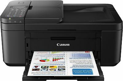 View Details Canon - PIXMA TR4520 Wireless All-In-One Inkjet Printer - Black • 99.99$