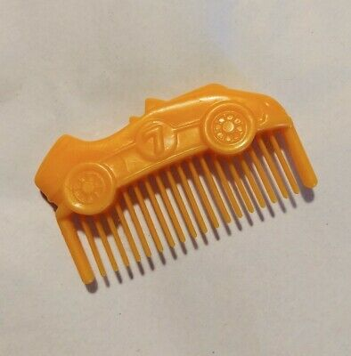 Vintage G1 Hasbro My Little Pony Orange Race Car Comb Accessory (Brother Paws) • 7.24£