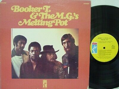 BOOKER T. & THE M.G.'S - Melting Pot LP (RARE US Pressing On STAX) • 27.49£