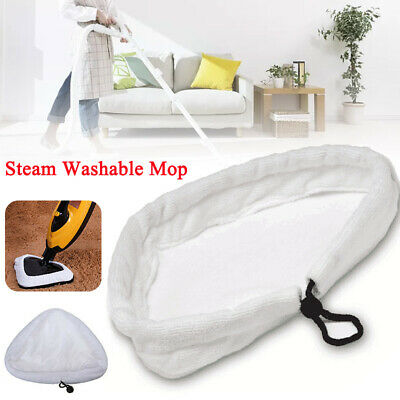 AU22 • Buy 6Pcs Replacement Steam Washable Mop Pads Micro Fibre Clothes GP Cleaner H2O