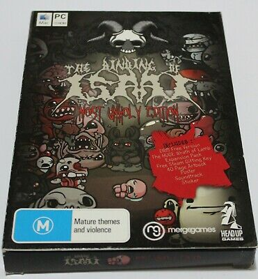 AU99.95 • Buy The Binding Of Isaac: Most Unholy Edition - DLC Pack:Wrath Of The Lamb (Rare) PC