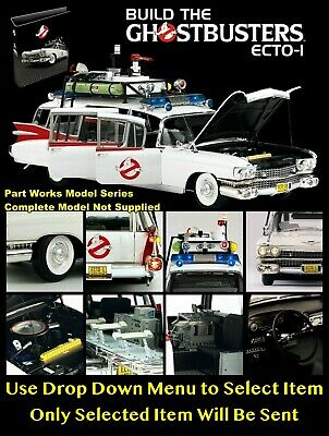 Eaglemoss Build The Ghostbusters Ecto 1 - Part Work Magazine / Model Parts - New • 7.99£