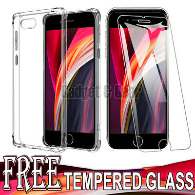 AU8.90 • Buy For Apple IPhone SE 2nd Gen 2020 7 8 Plus Clear Case Shockproof Heavy Duty Cover