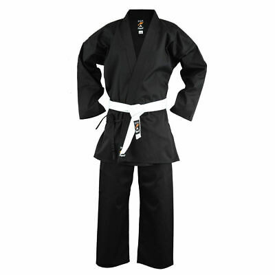 £14.99 • Buy Playwell Black Karate Students Uniform Polycotton Childrens Kids Suits Outfit Gi