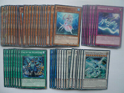Sea Serpent Water Synchro Deck * Ready To Play * Yu-gi-oh • 30£