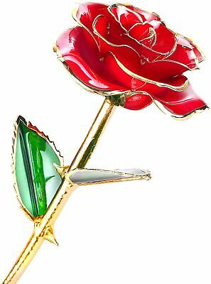 Tin 10th Wedding Anniversary Gifts 10 Year Everlasting Rose Hancrafted In UK New • 26.99£