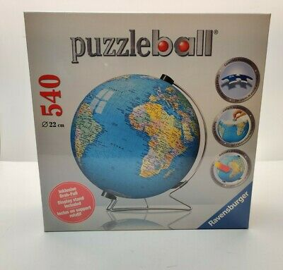 $75 • Buy Ravensburger The Earth 3D Jigsaw Puzzle Ball World Globe 540 Pieces