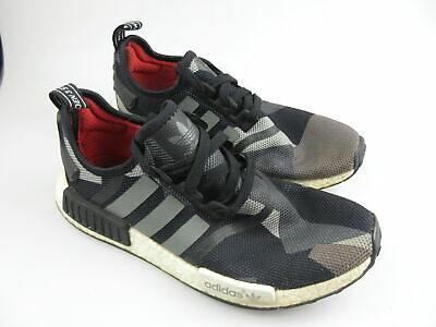 AU47.99 • Buy Men's ADIDAS 'NMD R1' Sz 9 US Runners Black Shoes VGCon | 3+ Extra 10% Off