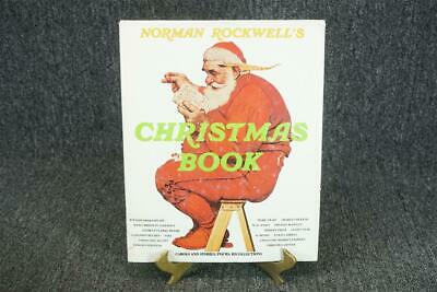 $ CDN25.33 • Buy Christmas Book By Norman Rockwell Hardcover C. 1977