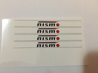 £2.60 • Buy 1/18 Scale Modified Tuning Nismo Decal Sunstrips