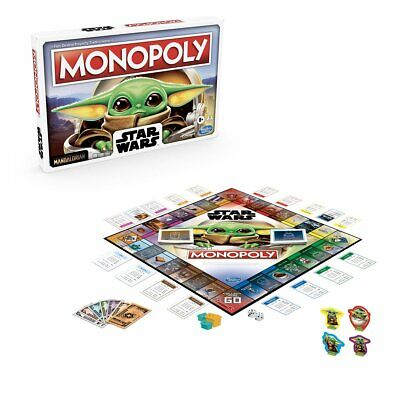 $26.99 • Buy Star Wars The Mandalorian The Child (Baby Yoda) Edition Monopoly Game PRE-ORDER