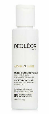 Decleor Aroma Cleanse CLAY POWDER CLEANSER Face Wash Combination Skin 41g • 13.99£