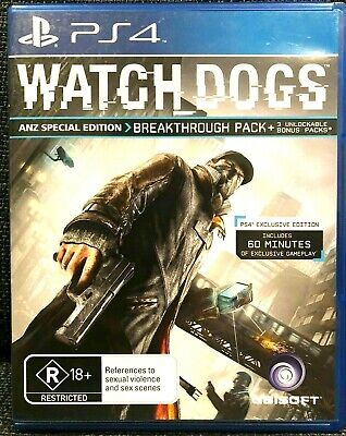 AU37 • Buy 🔥watch Dogs Ps4 - Playstation 4 Video Games New & Seal🌠 Free Post📮