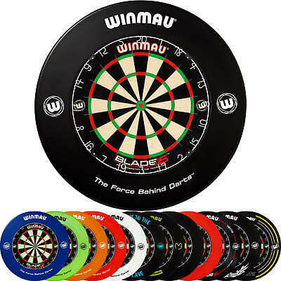 AU262.95 • Buy Winmau | Blade 5 Dual Core Dartboard & Surround Package | 12 Different Surrounds