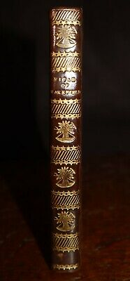 1823 The Vicar Of Wakefield A Tale By Oliver Goldsmith Small Leather Bound Vol • 120£