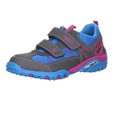 Superfit Childrens Kids 0-00224-07 Sport 4 Shoes Stone Turquoise Combi • 19£