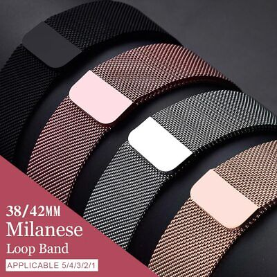 AU36.88 • Buy Magnetic Milanese Loop For Apple Watch Band Strap 42mm 38mm For Iwatch 5/4/3/2/1
