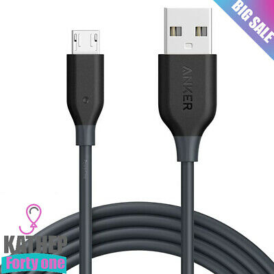 AU14.92 • Buy Anker PowerLine Micro USB Premium Cable 6ft - One Of The World's Fastest, Most