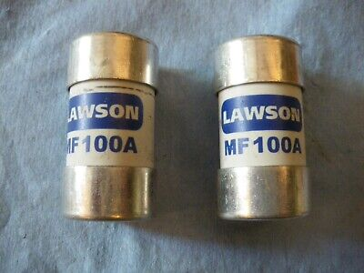 2 Lawson 100A BS88-3 House Service Cut-out Main Fuse  MF100A  100 Amp  • 8£