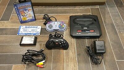 AU115 • Buy Sega Mega Drive 2 Console With Games And All Cables