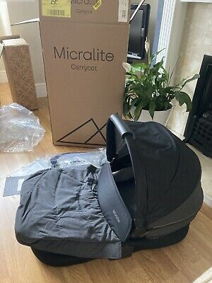 MICRALITE Smartfold Carry Cot RRP £195 • 49.99£