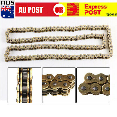 AU42.59 • Buy Heavy Load 520x120 ATV Motorcycle O-Ring Drive Chain 520 Pitch 120 Links Gold H