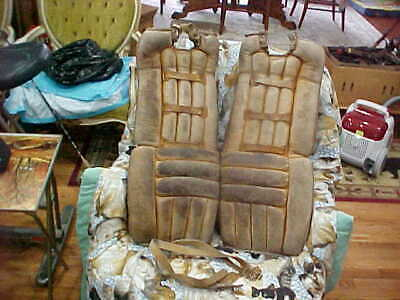 $375 • Buy Vintage Cooper Goalie Hockey Leg Pads Leather