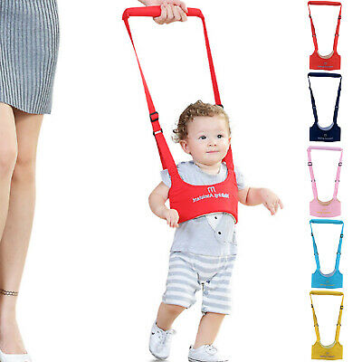 Baby Toddler Walking Harness Aid Assistant Rein Learn Walk Safety Equipment		 • 5.59£