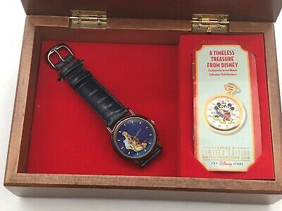$44.95 • Buy Walt Disney Limited Edition Fossil Watch Collector Series V! Pocahontas!