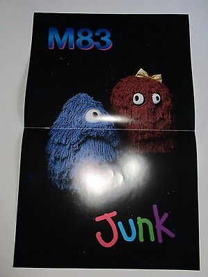$5 • Buy M83  Junk  Promotional  Poster  11  X 17  NEW