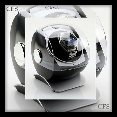 $ CDN97.10 • Buy Versa Automatic Single Watch Winder With Sliding Cover