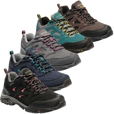 Regatta Womens Holcombe IEP Isotex Waterproof Low Ankle Walking Shoes • 31.02£