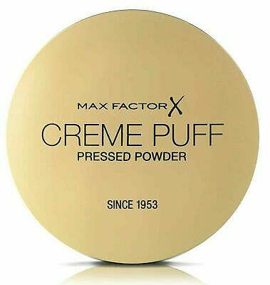 MAX FACTOR Creme Puff Compact Pressed Face Powder 21g *CHOOSE YOUR SHADE* • 3.99£