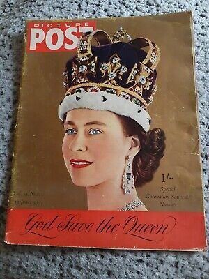 Picture Post. 13 June 1953. Coronation Special. Used Condition • 4.99£