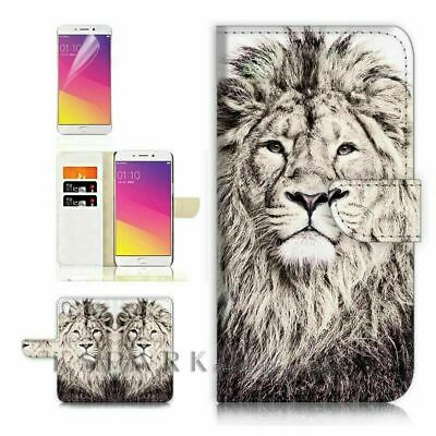 AU12.99 • Buy Lion TPU Phone Wallet Case Cover For Huawei Y9 Prime 2019 - 31186