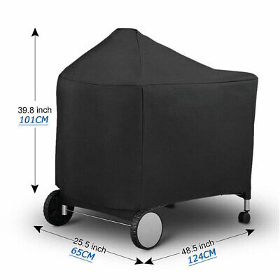 $ CDN25.63 • Buy BBQ Protective Grill Cover For Weber 7152 Performer Charcoal Grills 124x65x101cm