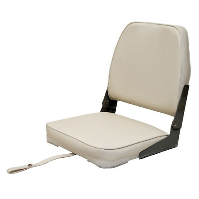 $ CDN85.12 • Buy Attwood Boat Folding Fishing Seat 98395WH | White Low Back
