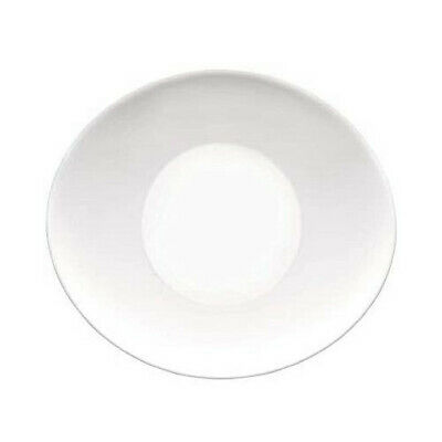 £22.95 • Buy Oval Shaped Prometeo Side / Dessert Plates In Brilliant White (12 Pieces)