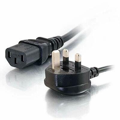 C2G 1.8 Metre UK Power Cable (IEC320C13 To BS 1363) 6 Foot Kettle Lead • 3.50£