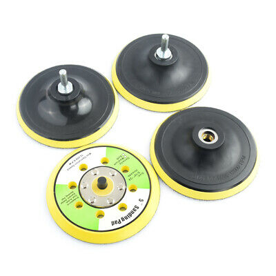 $ CDN9.07 • Buy 5inch Sander Backing Plate Polisher Sanding Disc Holder Pad Hook And Loop Face