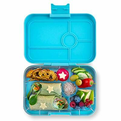 AU87.70 • Buy Yumbox TAPAS Larger Size Nevis Blue 5 Compartment Leakproof Bento Lunch Box Fo